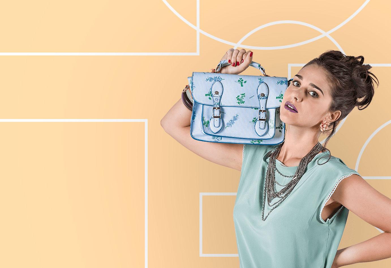 Pattern fantasiosi per un look vivace: Naj Oleari da sempre di tendenza nella moda giovane